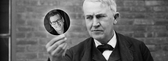 My Commonality with Thomas Edison