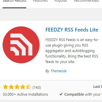 Getting Your EBay RSS Feed into you Blog